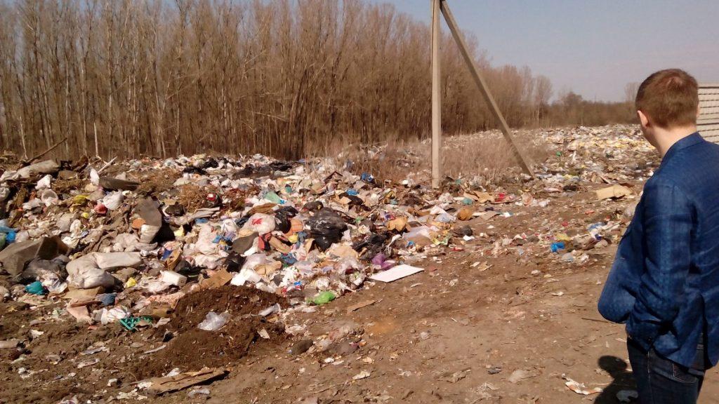 Курская область. В Суджанском районе ликвидируют свалки
